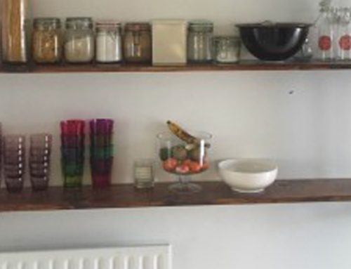 Industrial shelves in Dalkey Dublin