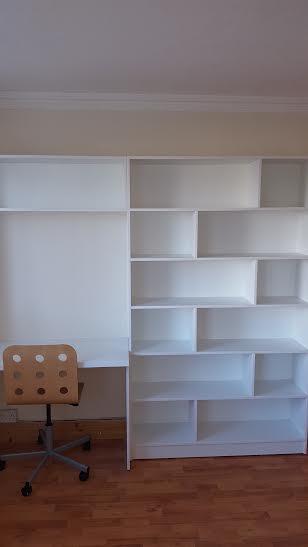 white shelving unit greystones wicklow