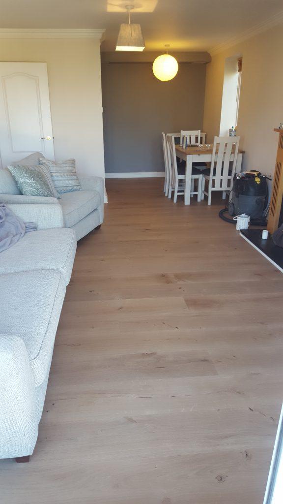 Oak wide plank dublin