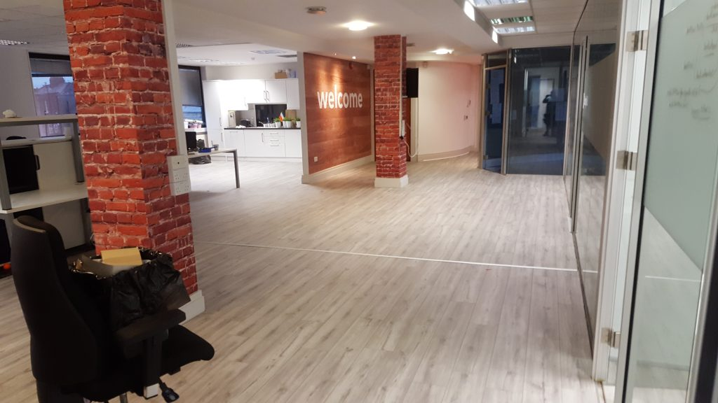 office laminate floor