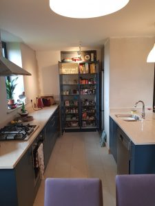 dalkey blue kitchen