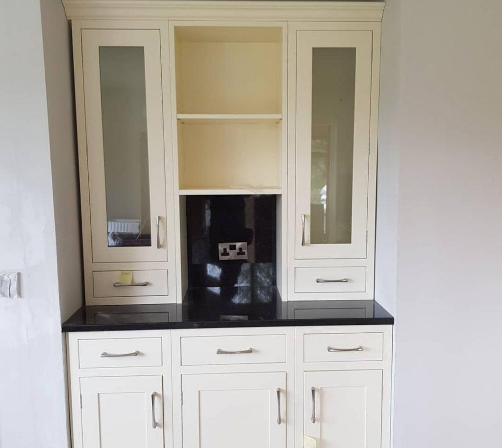In frame bespoke kitchen