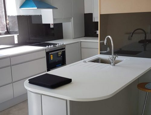 Dalkey Kitchen With Minerva Curved Worktop
